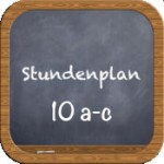 stundenplan 10 icon