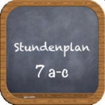 stundenplan 7 icon